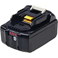 Fhybat 18v 6.0Ah Replace for Makita 18V Battery Lithium with LED Indicator BL1830 BL1840 BL1850 BL1860 BL1820 BL1815 LXT-400 Cordless Power Tools