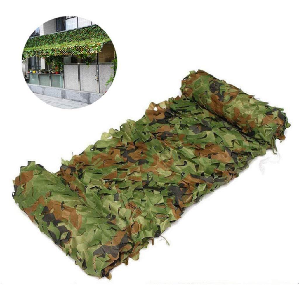 XEWNEG 森林迷彩の網、屋外の庭のキャンプの装飾的な陰の網のための端補強されたオックスフォードの布 (Size : 6x6m) B07SLJZGKM  6x6m