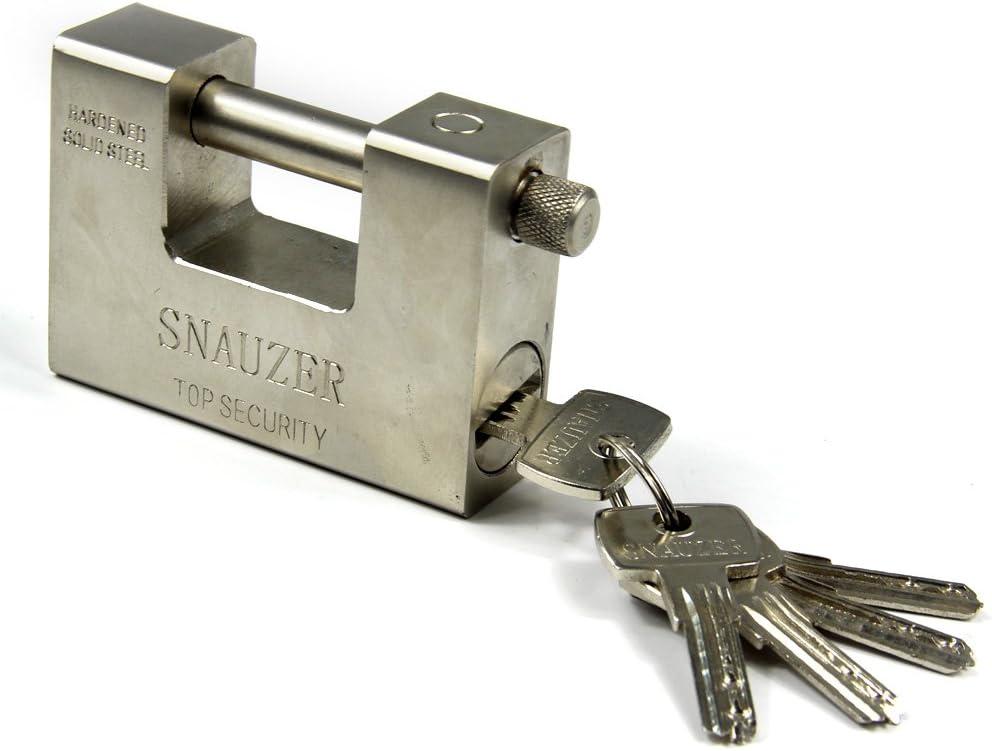 HUAYUU 5 Keys Super Heavy Duty Padlock Steel Continer Garage Warehouse Security Lock