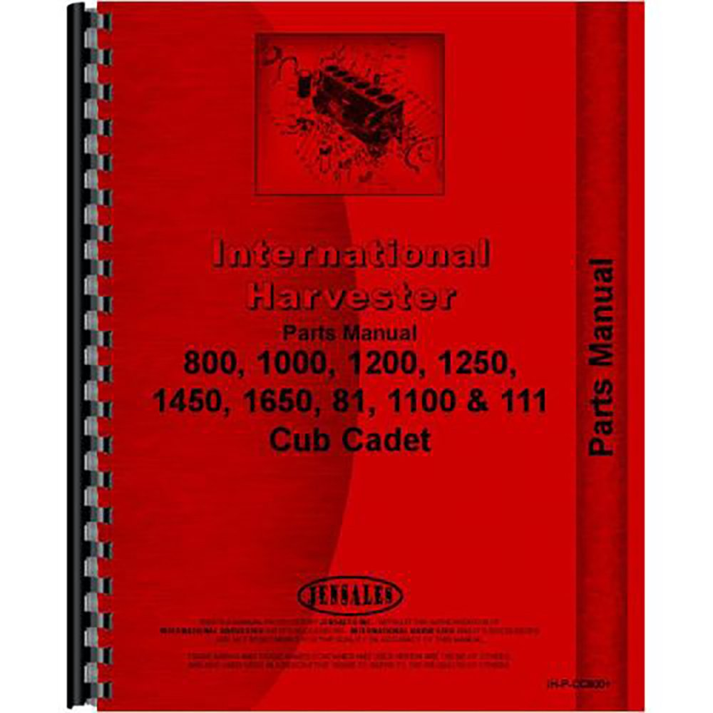 1450 Cub Cadet Schematic Manual New Tractor Parts For International Harvester Industrial Scientific 1000x1000