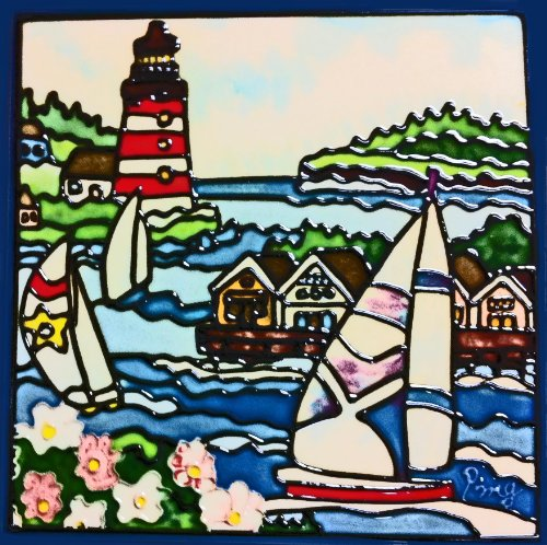Continental Art Center BD 0766 Lighthouse product image