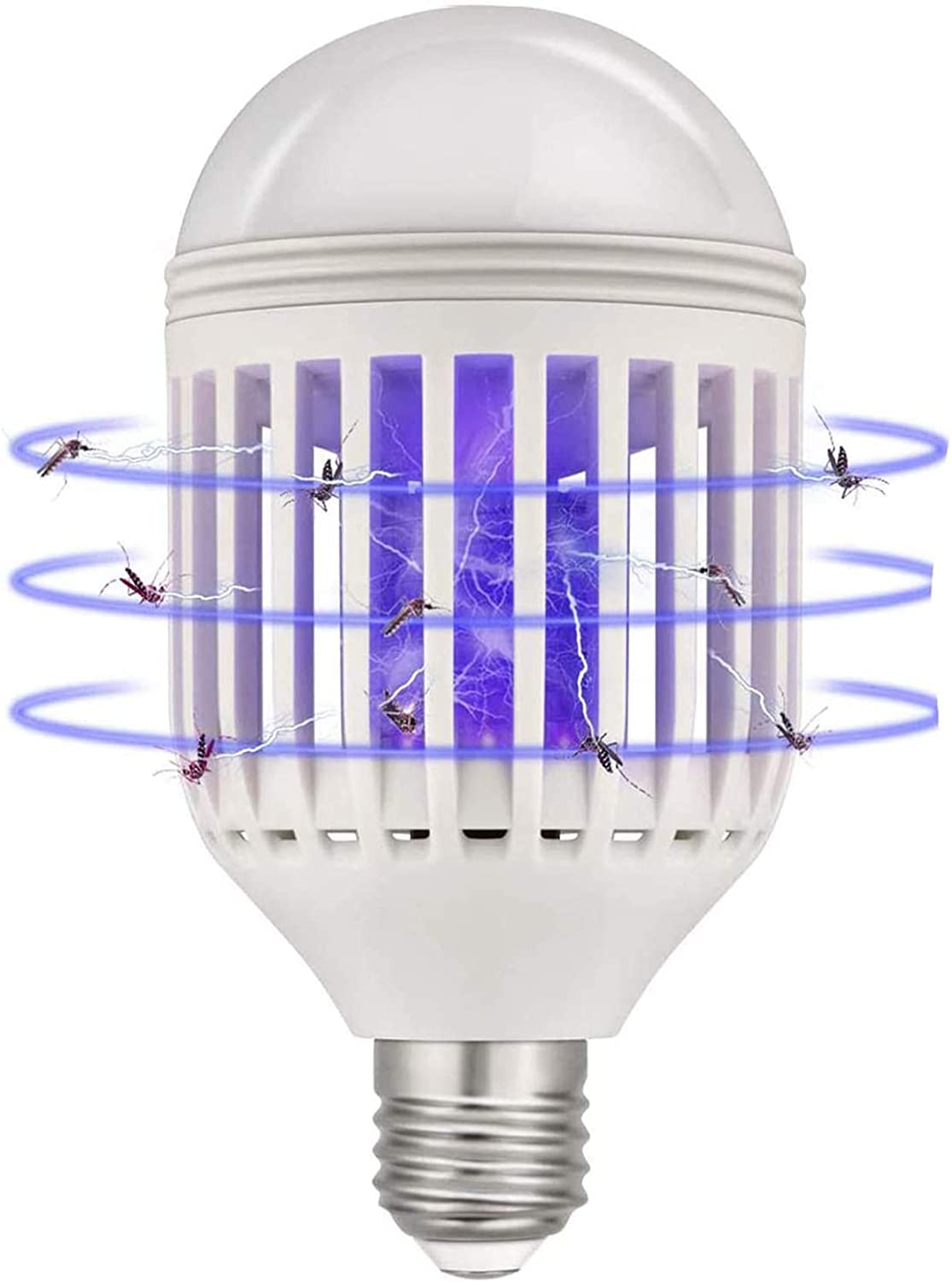 Electric Fly Bug Zapper Mosquito Insect Killer Pest Control LED Light Lamp K6O9