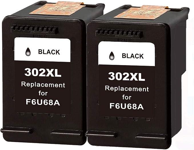 Pack de 2 cartuchos de tinta remanufacturados 302XL para 302 302XL ...