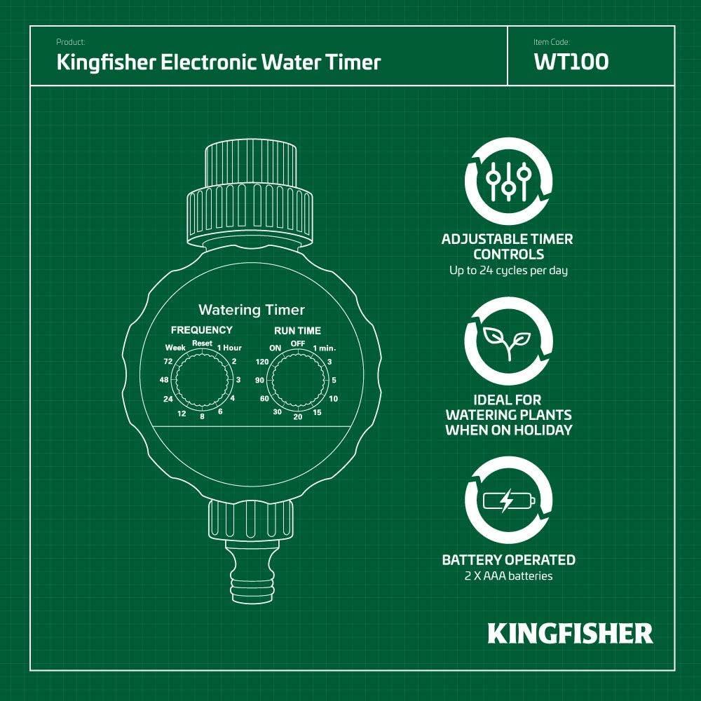 Kingfisher Electronic Water Timer