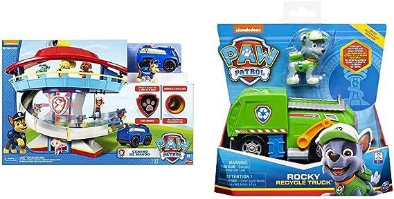 Bizak Patrulla Canina Centro de Mando 61926606 + Canina Vehículo y Personaje, Modelos Surtidos 61926775: Amazon.es: Juguetes y juegos