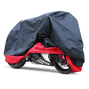 ca03a08ce69 GHB Funda para Moto Funda Protector Cubierta de Moto para Resistente al  Agua A Prueba de UV: Amazon.es: Coche y moto