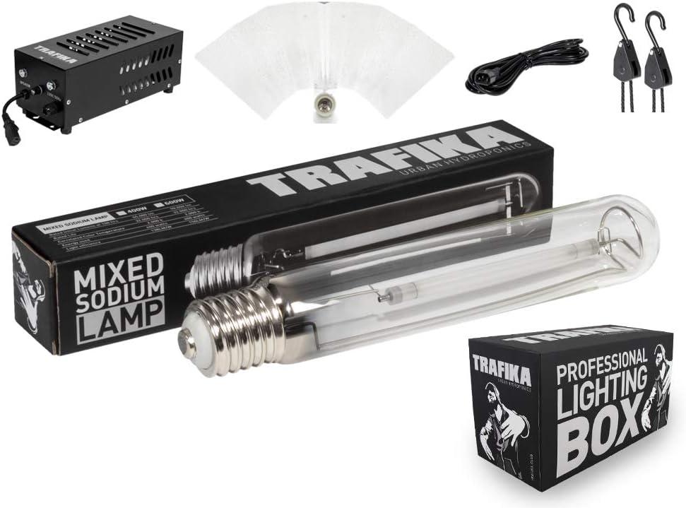 TRAFIKA Ballast Ampoule 4M Fil POULIES R/ÉFLECTEUR//KIT /ÉCLAIRAGE//Lighting KIT KIT LUMINAIRE Culture Professionnelle 600W