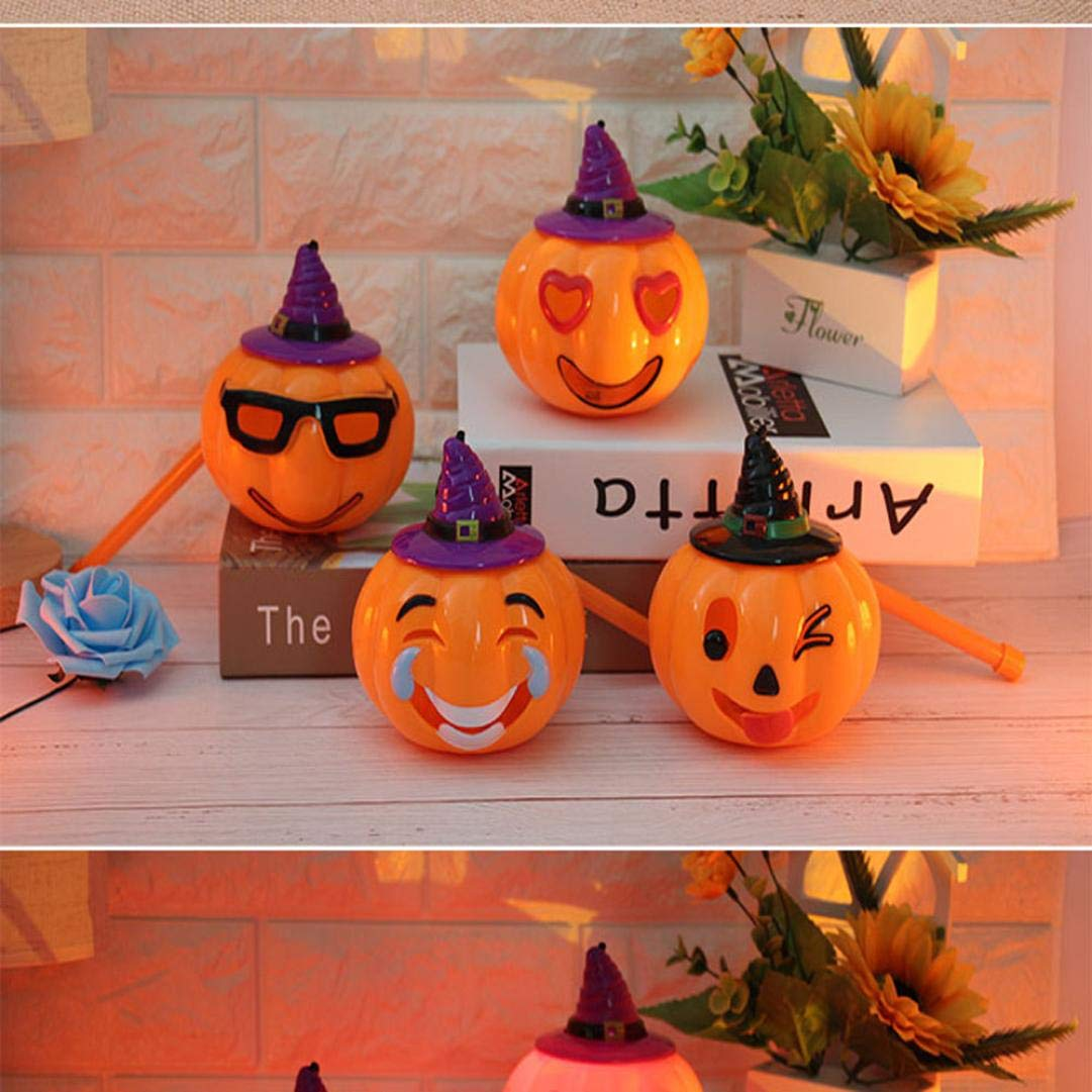 TAOtTAO - Figura Decorativa para Halloween, diseño de Calabaza con Texto en inglés Ghosts Kid, 0.24, Color D 11.5x11.5x12.5cm: Amazon.es: Deportes y aire ...