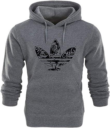 HNOSD 2018 New Hoodie Streetwear Hip Hop Rot Schwarz Grau