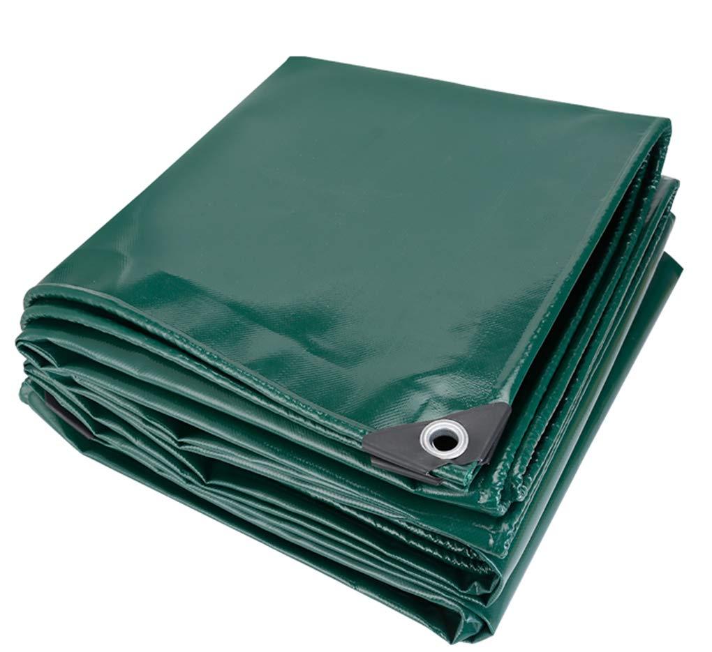 Verdicken Sie Plane Wasserdichte Plane Outdoor Rainproof Sheet Plane Canvas Sunshade Warm Tuch aus 650 Gramm Quadratmeter (grün),2  3m B07PTPQRRM Zeltplanen Neue Produkte im Jahr 2018