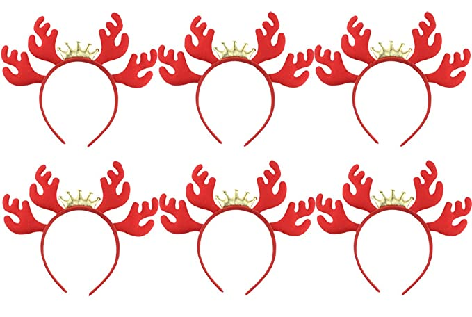 Amazon.com October Elf 6-Pack Christmas Decorations Child Costumes Headband Christmas Costumes Accessory by (A) Clothing  sc 1 th 184 & Amazon.com: October Elf 6-Pack Christmas Decorations Child Costumes ...