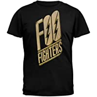 FEA Mens Men's Foo Fighters Adult Short Sleeve T-Shirt T-Shirt