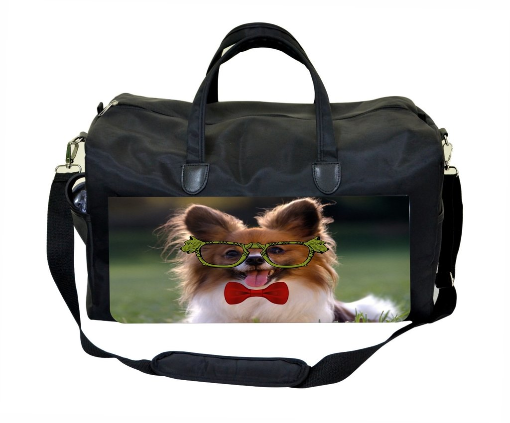 Puppy in Glasses and Red Bow Tie Therapist Bag