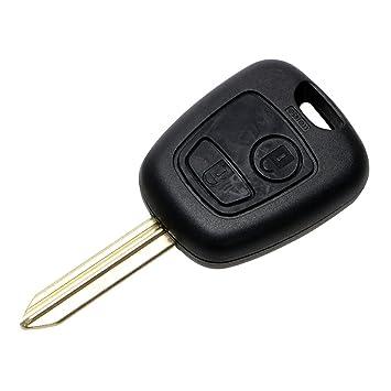iTimo - Carcasa para Llave de Coche para Peugeot Partner Expert Boxer SX9 Blade Remote 2 Button Key Fob, Diseño de Coche