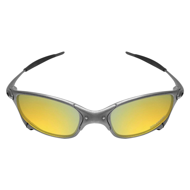 b7205368c5 Mryok+ Polarized Replacement Lenses for Oakley Juliet - 24K Gold   Amazon.com.au  Fashion