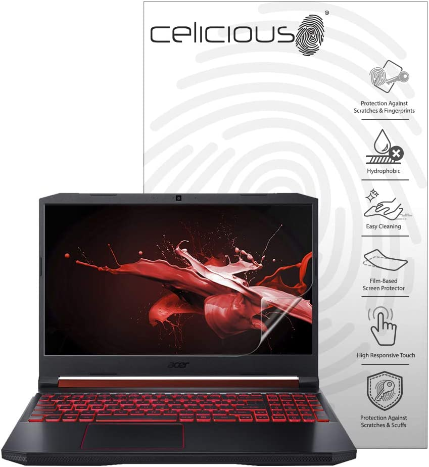 Celicious Impact Anti-Shock Shatterproof Screen Protector Film Compatible with Acer Nitro 5 AN515-43
