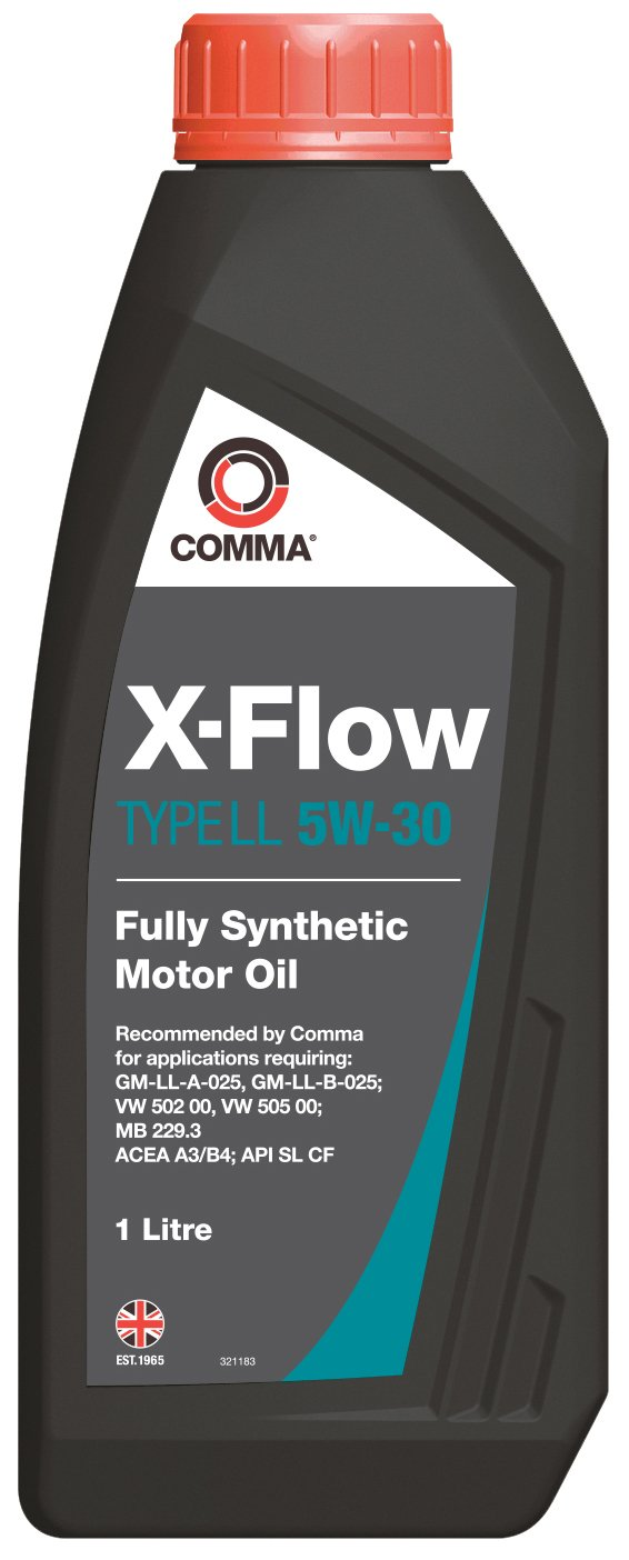Comma XFLL1L 1L X-Flow Type LL Fully Synthetic 5W30 Motor Oil Comma Oil & Chemicals Ltd.
