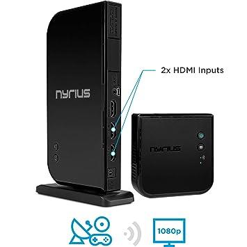 Amazon.com: Nyrius ARIES Home+ Wireless HDMI 2x Input Transmitter ...