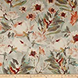 Kelly Ripa Home Flower Mania Duck Shell Fabric by The Yard