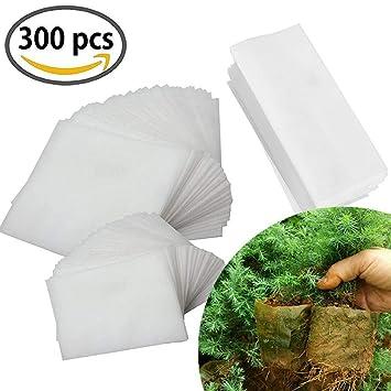 Meiso - Bolsas biodegradables para guardería, 300 unidades ...