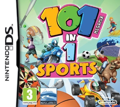 101-in-1 Megamix Sports (Nintendo DS) (Ds Nintendo Basketball)