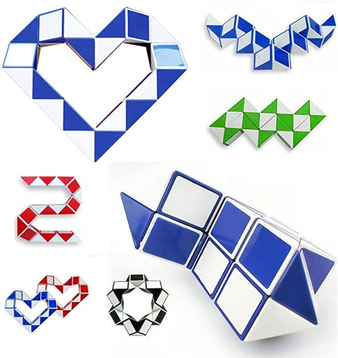 Banstore Cool Snake Magic Cube Puzzle toys for kids