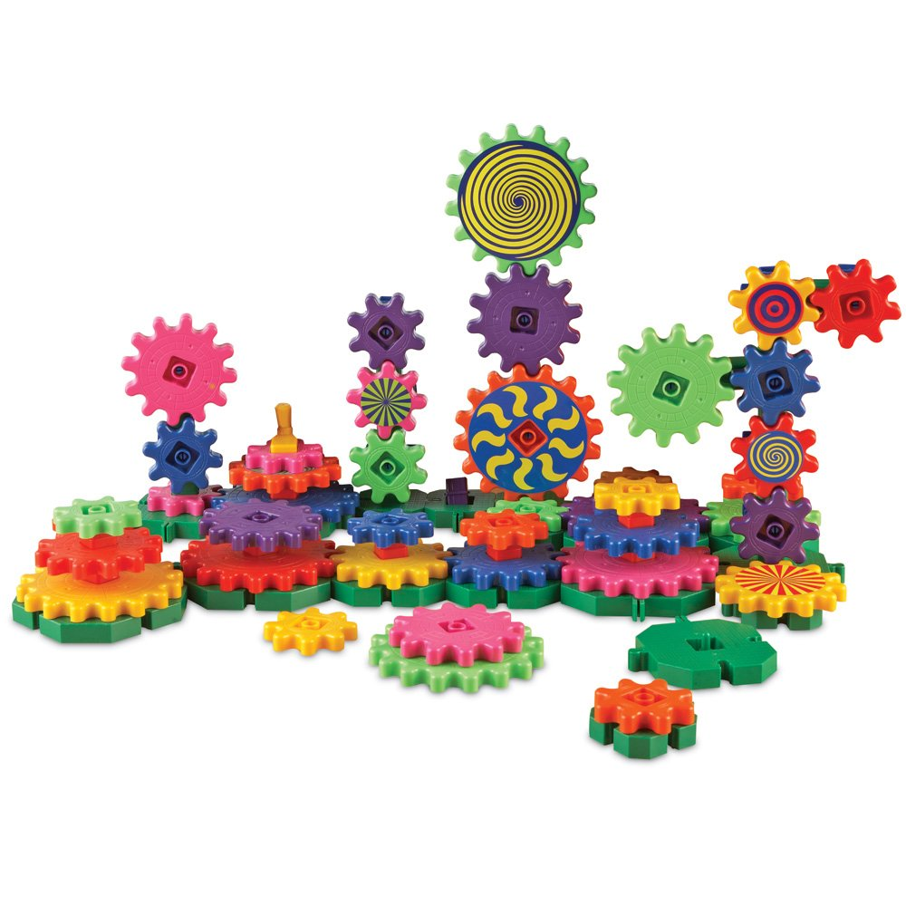 Learning Resources Gears! Gears! Gears! Wacky Factory, 128 Pieces Review