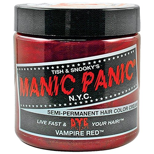 Manic Panic Vampire Red Hair Dye 4 oz