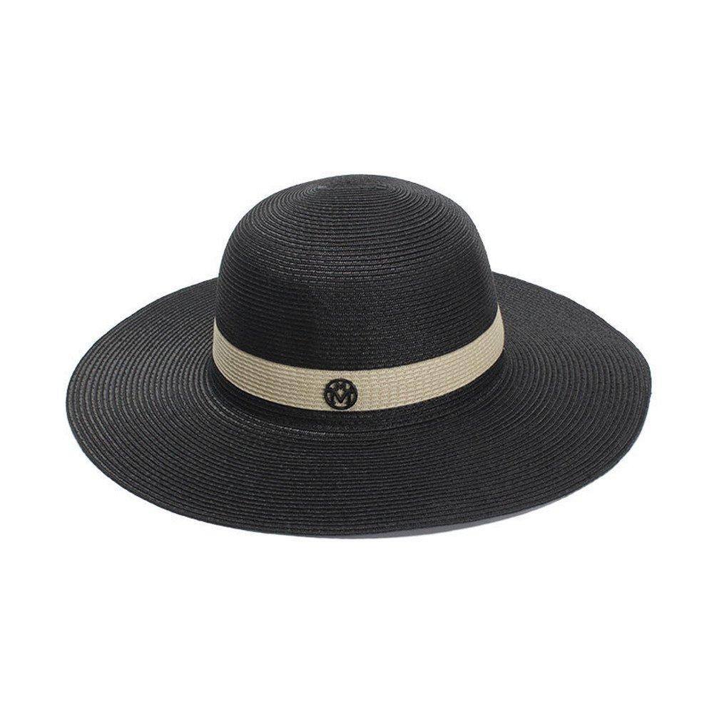 Wide Brim Sun Hats Summer Hat Ladies Fashion Patchwork Panama Hats Chapeau