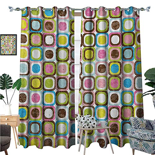 Retro Waterproof Window Curtain Abstract Grunge Background for sale  Delivered anywhere in Canada