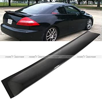 2003 2004 2005 2006 2007 Honda Accord 2 Door Coupe Rear Window Roof Visor  Spoiler Wing