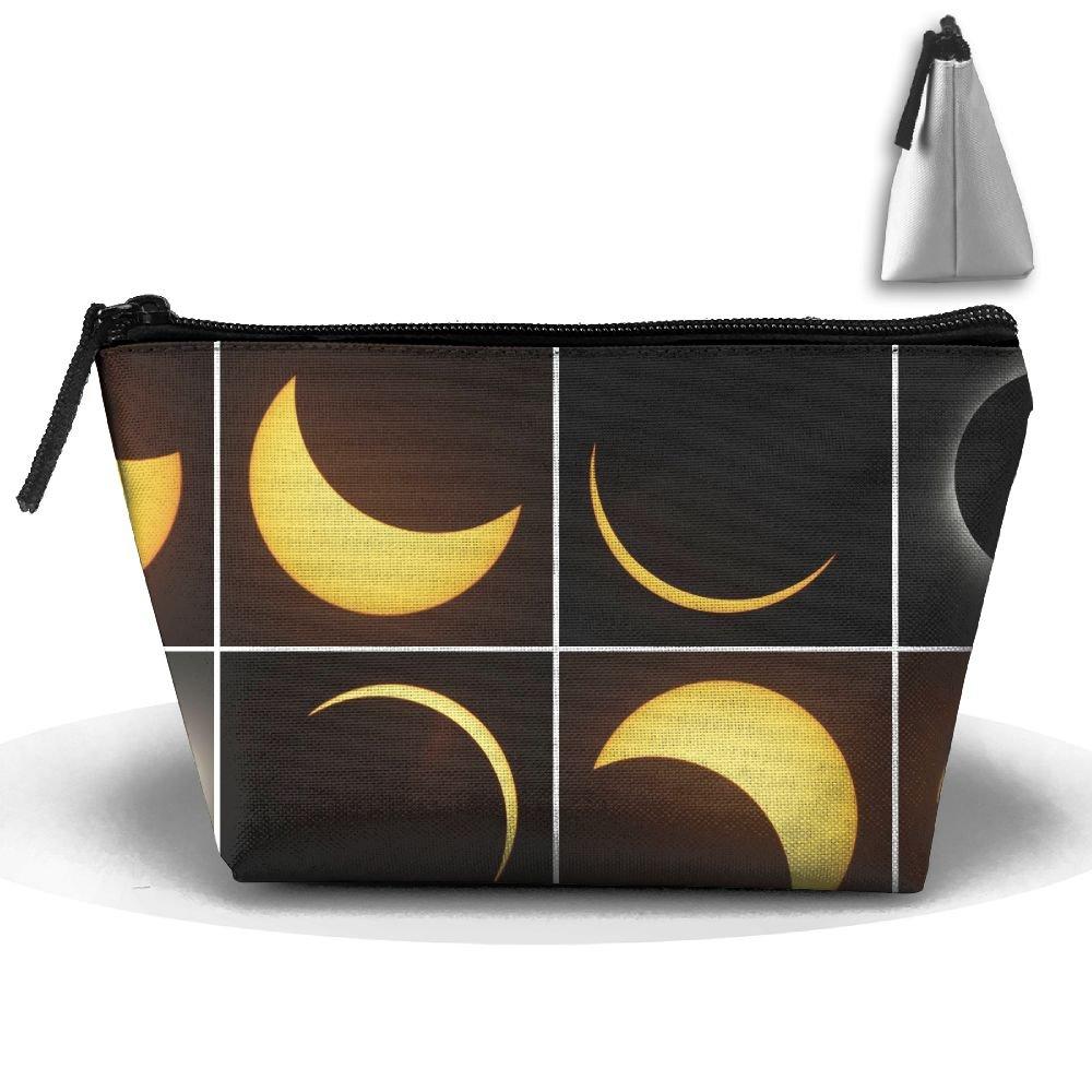 WQWSVX Total Solar Eclipse Fashion Travel Bag Trapezoid