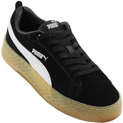 2080728739 Tênis Puma Smash Platform Sd Bdp Feminino - Tamanho Calçado(35) Cores(preto