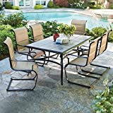 Belleville 7-Piece Padded Sling Outdoor Dining Set