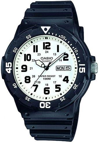 Casio MRW 200H 1BVEF | Montre Acier, Casio, Homme, Noir