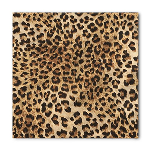(Ambesonne Leopard Print Bandana, Wild Animal Skin, Unisex Head and Neck)
