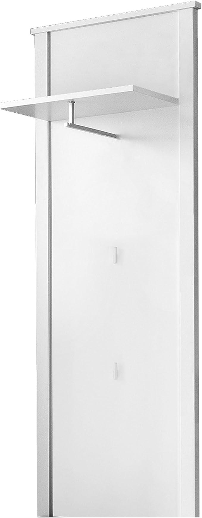 Trendteam Muebles Armario panel , Madera, Blanco, 55 x 147 x 26 cm ...