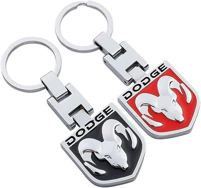 Fitrcaker 2pcs Auto Logo Metall Schlüsselanhänger Stainess Auto Keychain Schlüsselring 3d Mit Doppelseitigem Logo Mit Geschenkbox Bekleidung