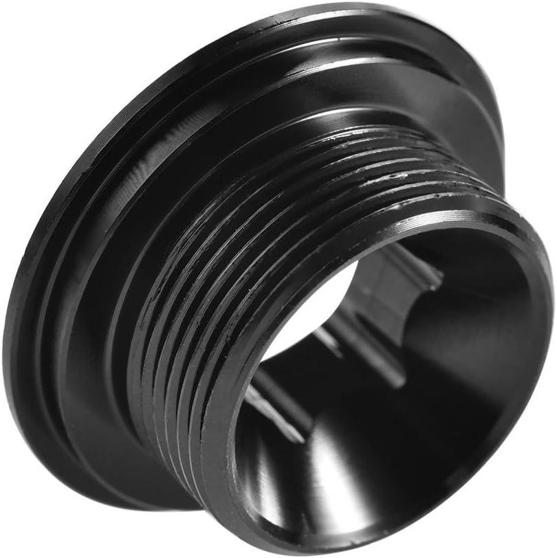 GUB Silver Aluminium Crank Fixing Bolt Crank Hollowtech 2 Bracket Screw