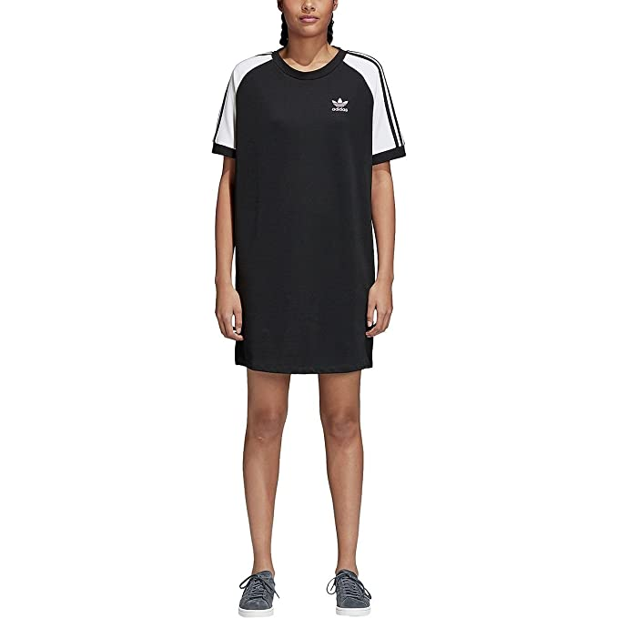 0ac9288af63 adidas Women Originals Women's 3-Stripes Raglan Dress CE4961 (XL) Black:  Amazon.ca: Clothing & Accessories