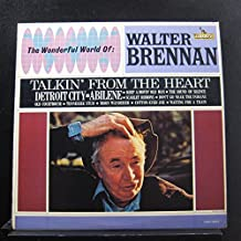 WALTER BRENNAN - talkin' from the heart LIBERTY 3317 (LP vinyl record)