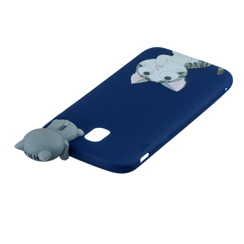 FNBK Compatible con La Funda Para Samsung Galaxy J5 2017 C/áscara Silicona Gel 3D Cartoon Funda Lindo Suave Ultra Delgado Flexible Cover Estuche Protecci/ón Gel Goma Bumper Ni/ñas TPU Case,Oso Polar