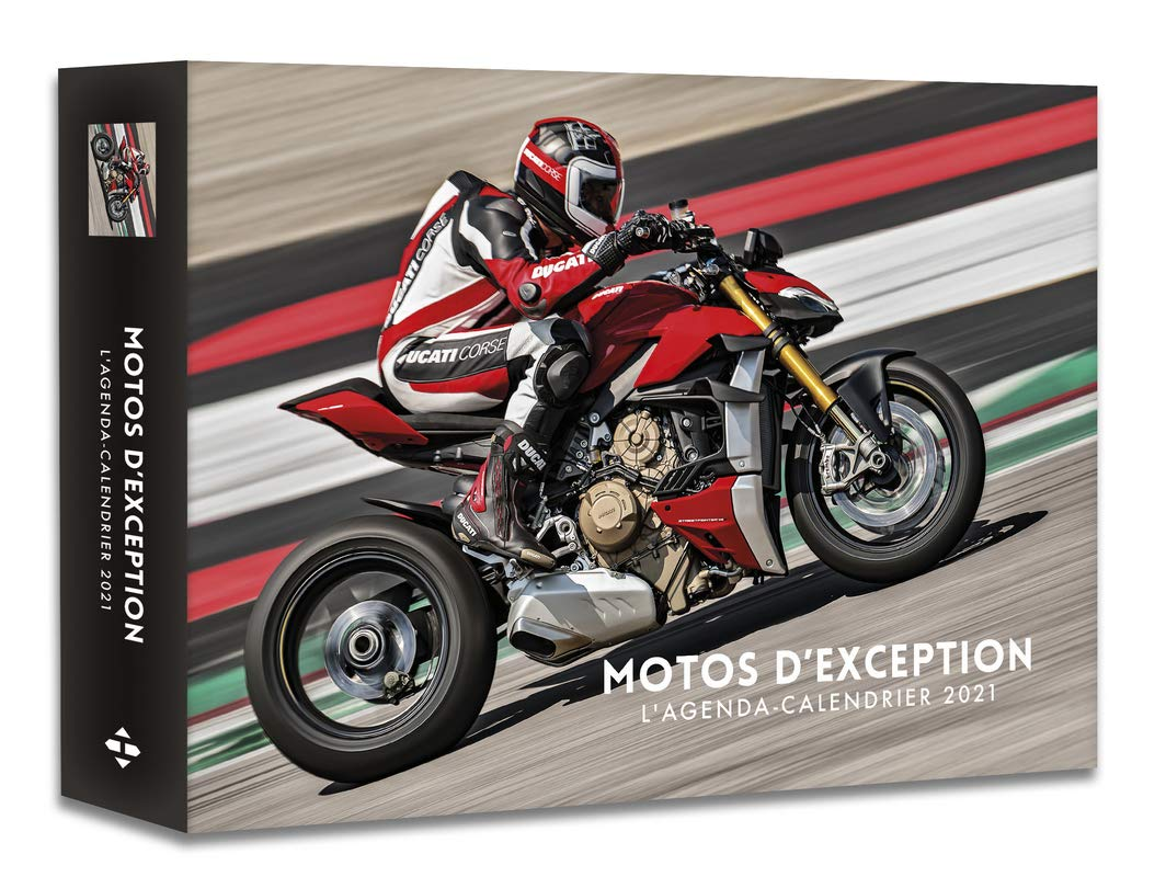 L'Agenda calendrier Motos d'exception 2021 (French Edition