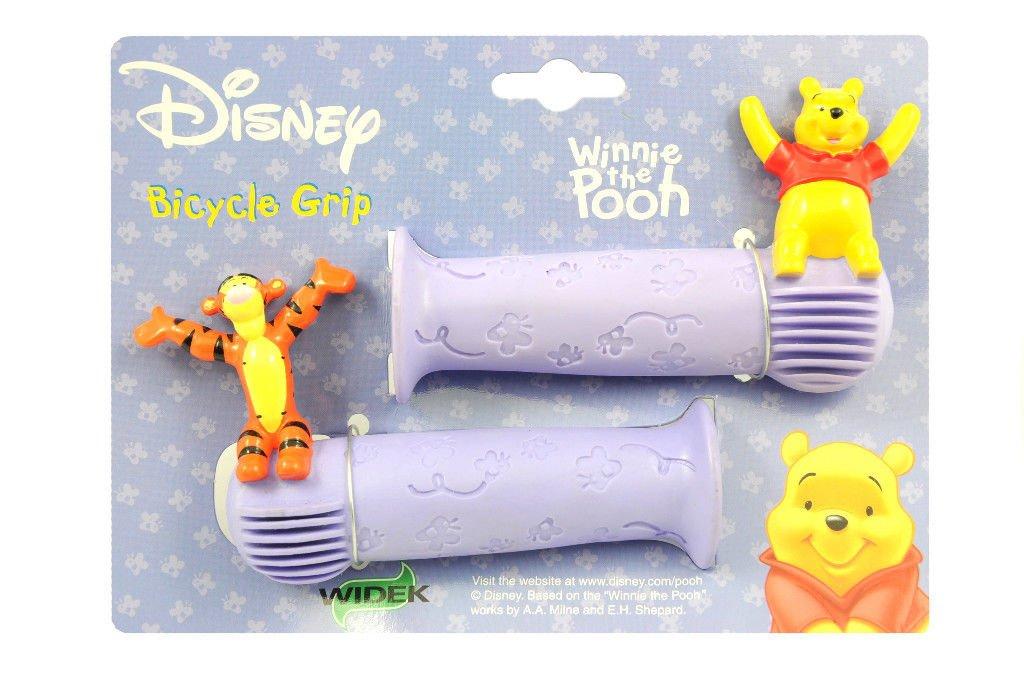 WINNIE THE POOH /& TIGGER CHILDS BIKE HANDLEBAR GRIPS DISNEY 19mm RED OR PURPLE