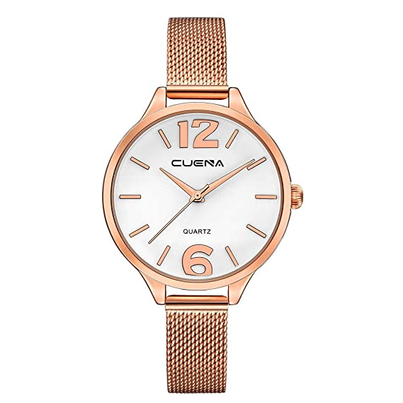 Iuhan Wrist Watch for Women Girls Holiday Deals, Womens Luxury Watches Quartz Watch Stainless Steel