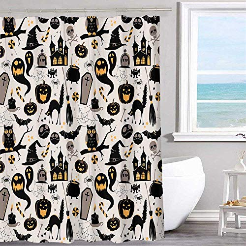 MKOK Extra Wide Shower Curtain 60