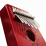 """Mbira Kalimba Thumb Piano - 10 Keys African Musical Instruments 