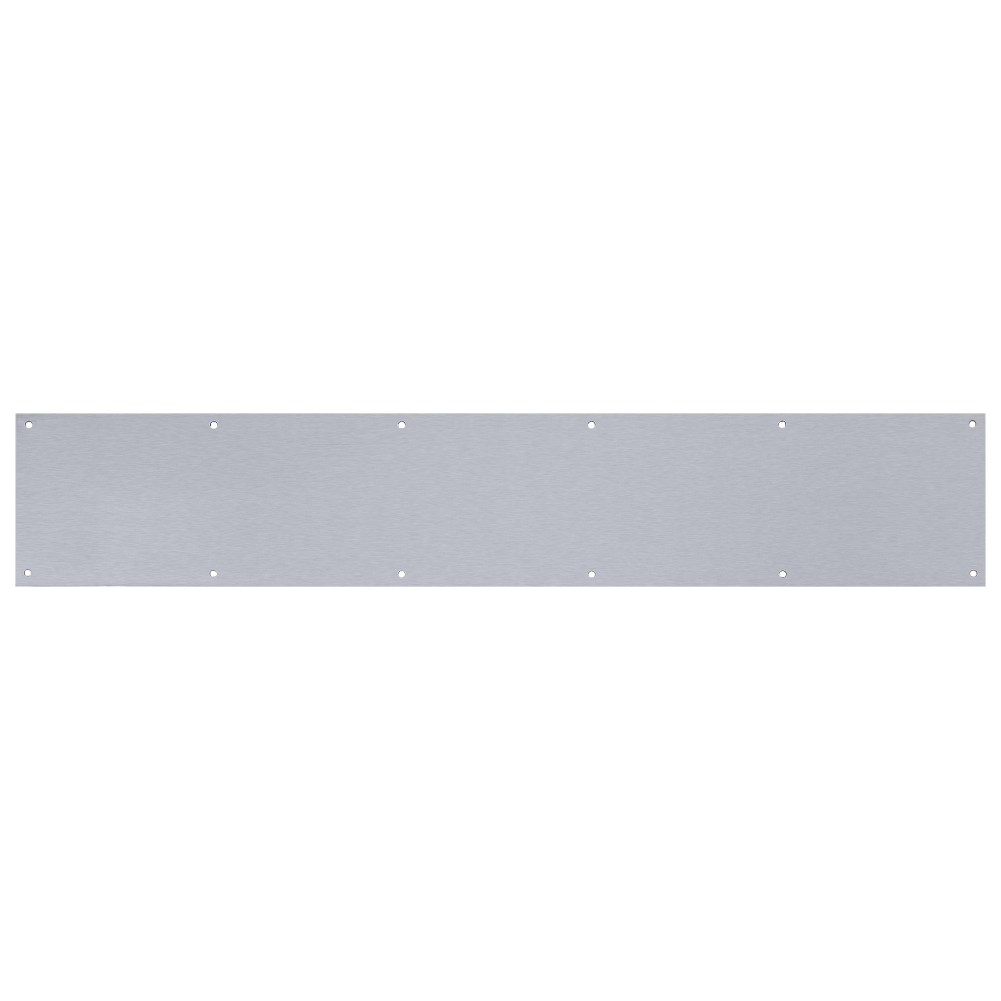 Tell Manufacturing DT100056 Kick Plate, Aluminum, 6'' x 34''