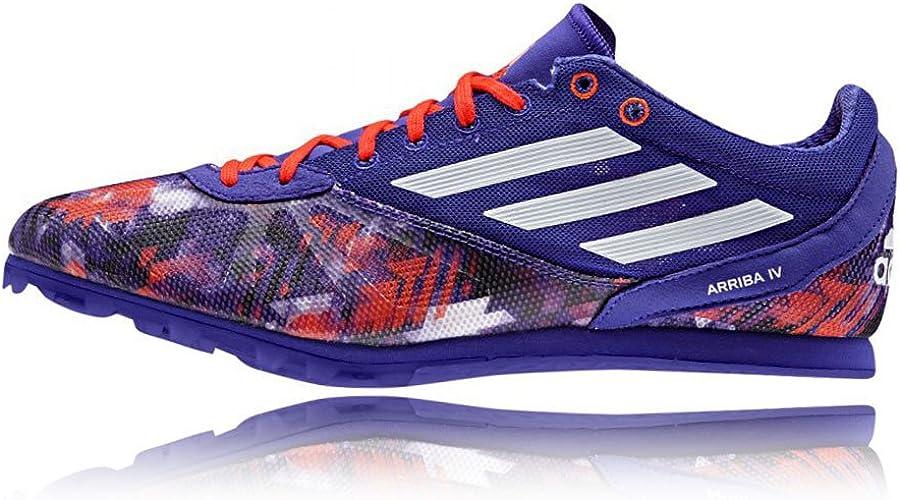Adidas Arriba 4 Zapatilla De Correr con Clavos - 42.7: Amazon.es: Zapatos y complementos