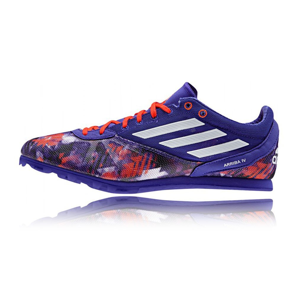 info for 0a159 190d8 adidas Arriba 4 Running Spikes Blue  Amazon.co.uk  Shoes   Bags
